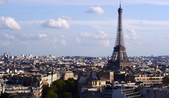 Modeld may choose to live in beautiful cities such as Paris