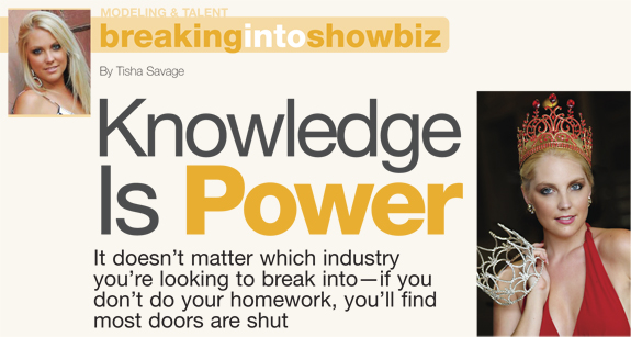 Knowledge is power by Tisha Savage