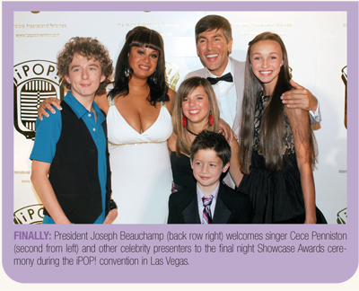 iPOP! President Joseph Beauchamp, Cece Penniston and other celebrities
