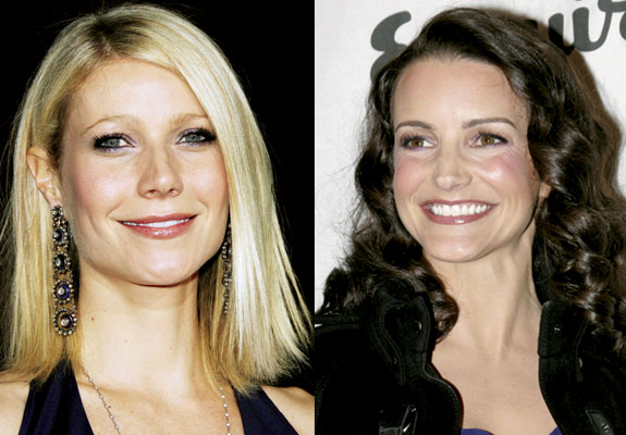 Gwyneth Paltrow and Kristen Davis