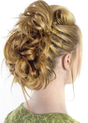 Curly Updo hairstyle