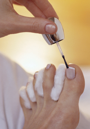 Pedicure Steps