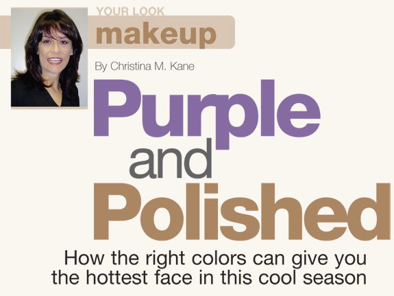Purple and Polished Makeup