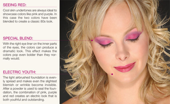 Makeup tips and instructions