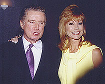 Kathy Lee Gifford and Regis Philben