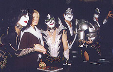 KISS and Martha Stewart