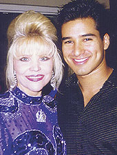 Mario Lopez and Mary West