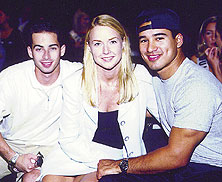 Mario Lopez and Maureen