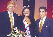 Donald Trump, Melissa Quesada, and Alex Penelas