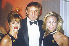 Kathy Wheatley and Donald Trump