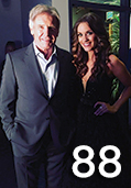 Celebrity Spotlight - Actor Harrison Ford with Miss America 2016 Betty Cantrell