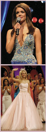 Miss America 2006 Jennifer Berry and MAOT 2005 Meghan Miller