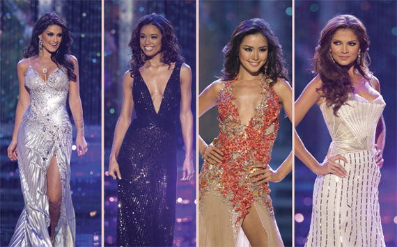 Miss Universe Top 5 Gowns