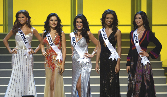 Miss Universe 2007 - Finish line