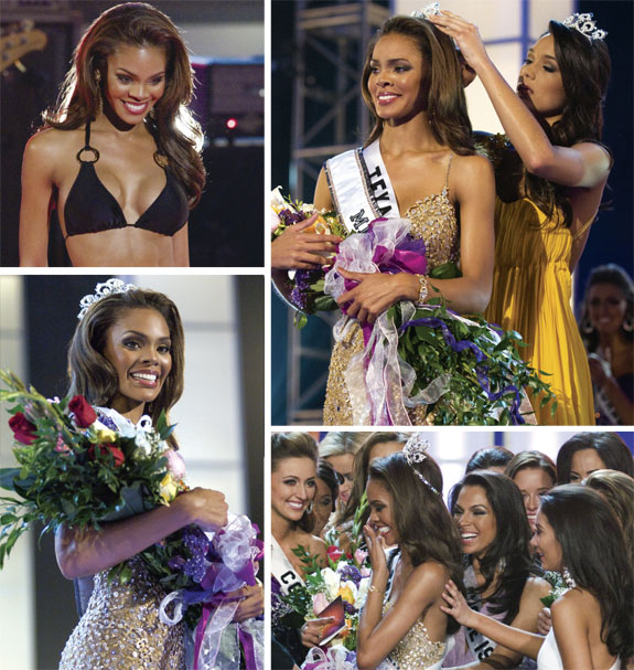 Miss USA 2008 Crystle Stewart - Crowning Moments