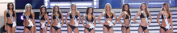 Top 10 Miss USA 2008 Swimsuits