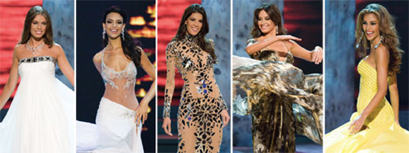 Miss Universe 2008 Top 5