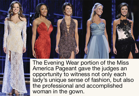 Miss America 2009 Evening Gown Competition