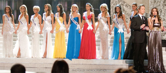 Miss USA Pageant Top 10