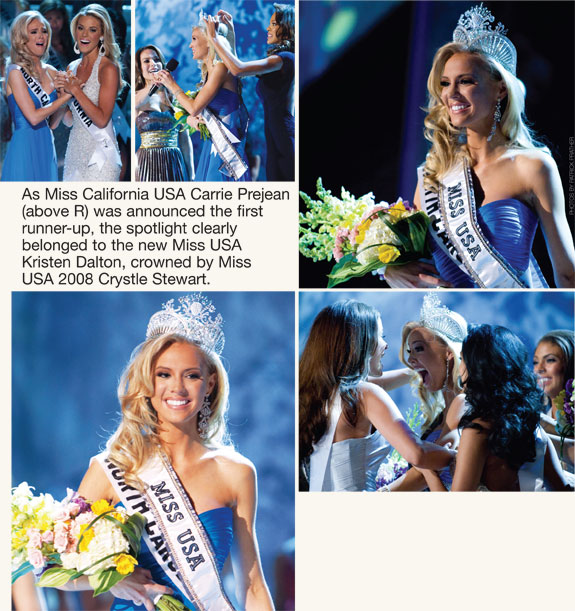 Crowning moments of Miss USA 2009 Kristen Dalton