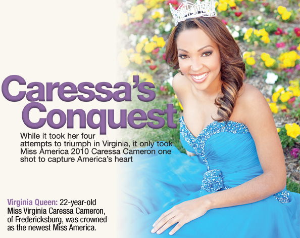Caressa's Conquest: Miss America 2010
