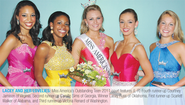 Miss America's Outstanding Teen's 2011 Court