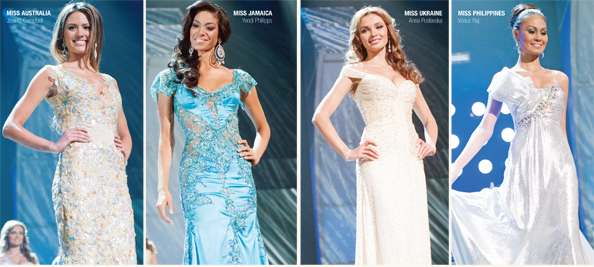 Top 5 in Evening Gowns
