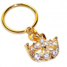 Crown Key Ring