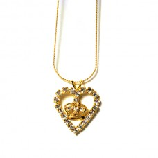 Heart Crown Necklace
